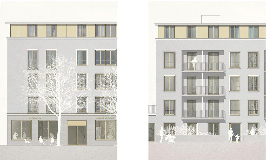 Erlangen Blockrandbebauung 2018