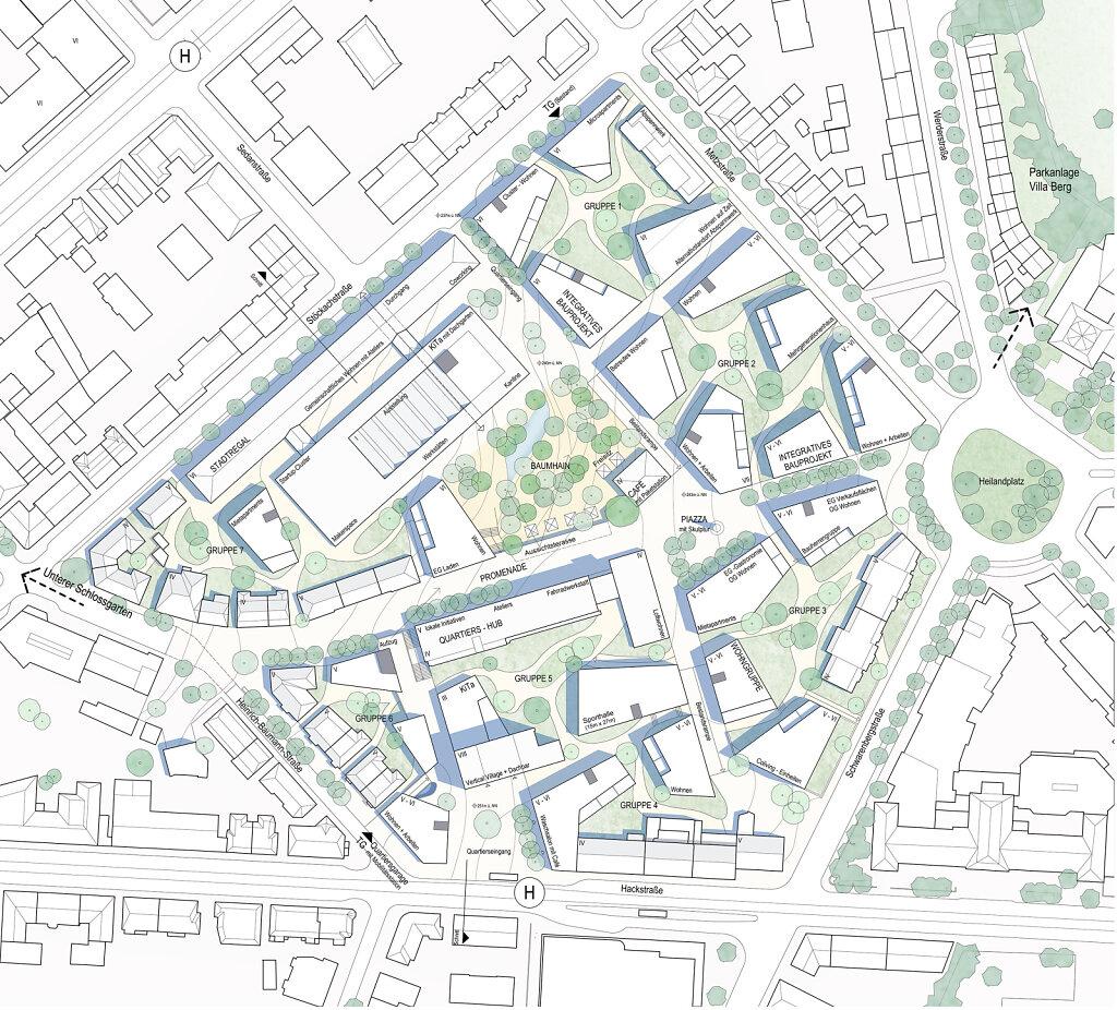 Stuttgart Neues Stadtquartier Stöckach 2019